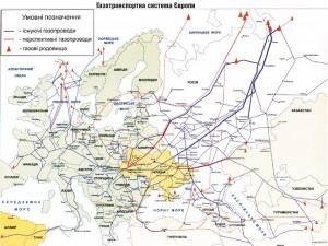 Газотранспортна система Європи