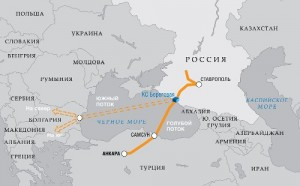Маршрут «Южный поток»